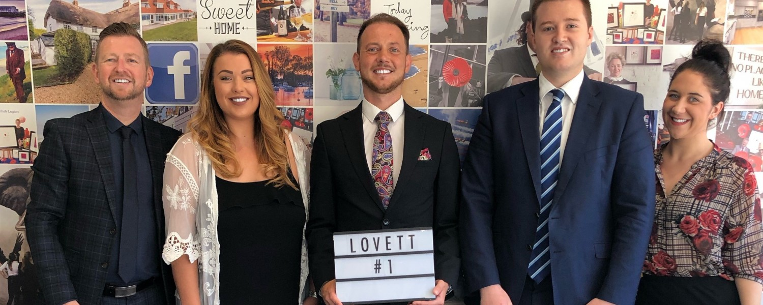 Lovett Continue to be Number 1 In Rightmove for Most Sales Agreed This Year